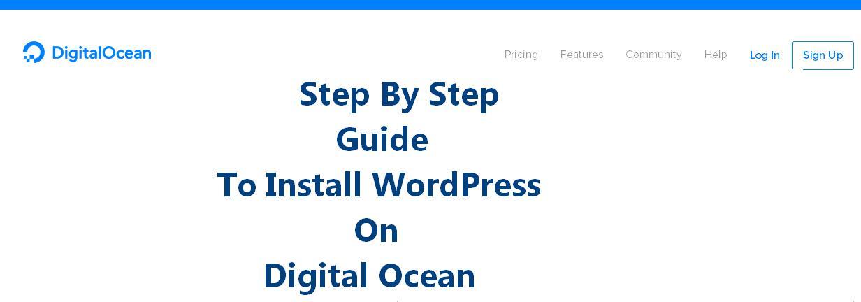 install wordpress on vps like digital ocean in 5 minutes