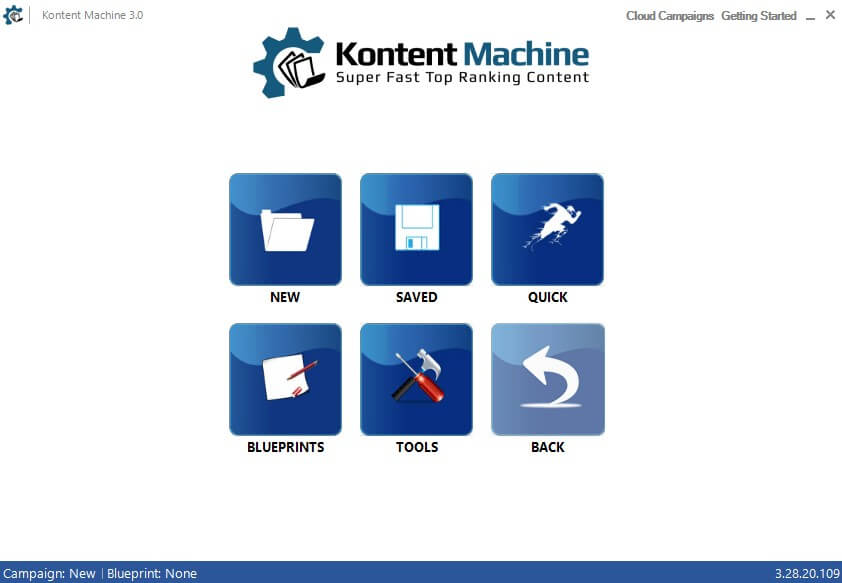 kontent-machine-home-window