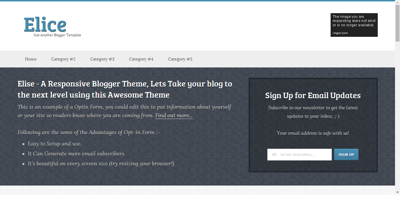 Best Blogger Templates for Event Blog : Premium Fast Loading Event Niche Blogging Theme