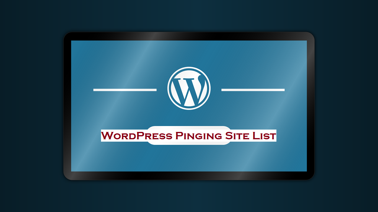 WordPress Ping List 2017