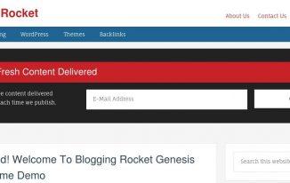 Download Blogging Rocket Genesis Child Theme Free