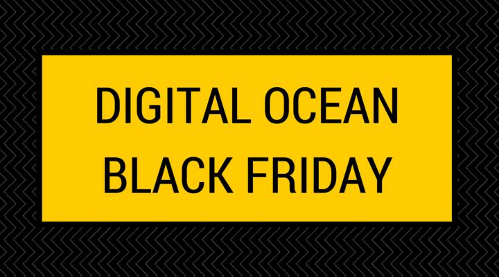 Digital Ocean Black Friday