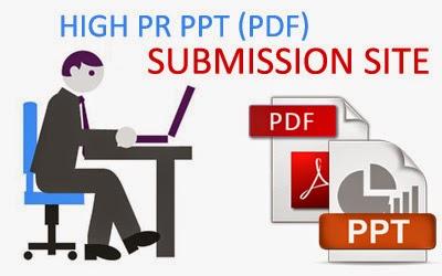 High PR PDF Submission Sites List