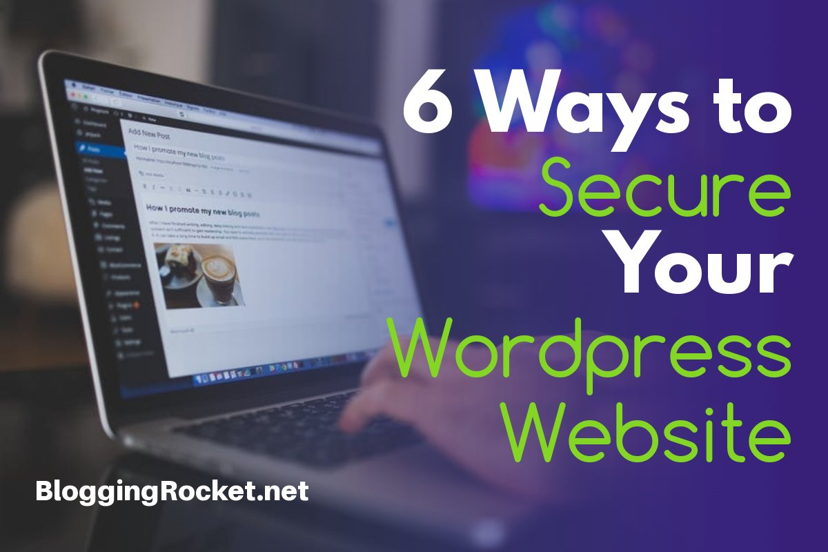 secure wordpress website