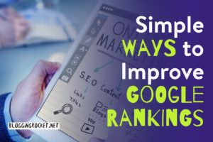 ways to improve google rankings