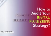Audit Digital Marketing Strategy