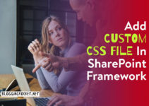 add custom css file sharepoint framework