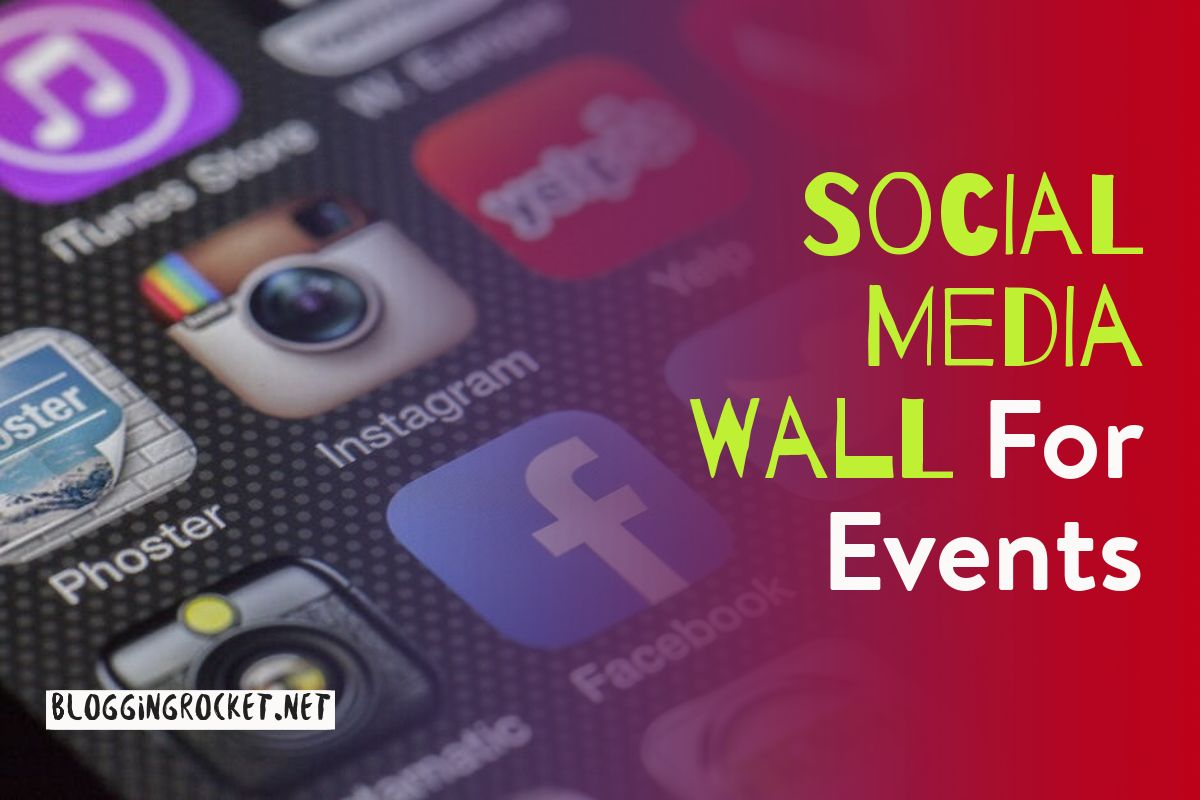 social media wall for events