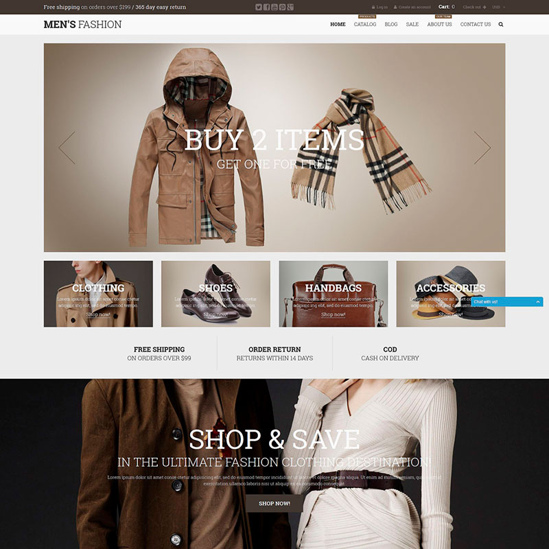 Male Fashion Shopify Theme