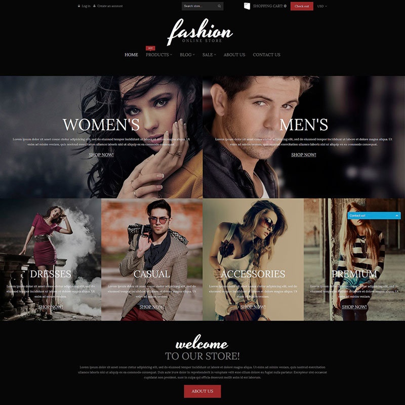 Fashion Online Store - Shopify Theme